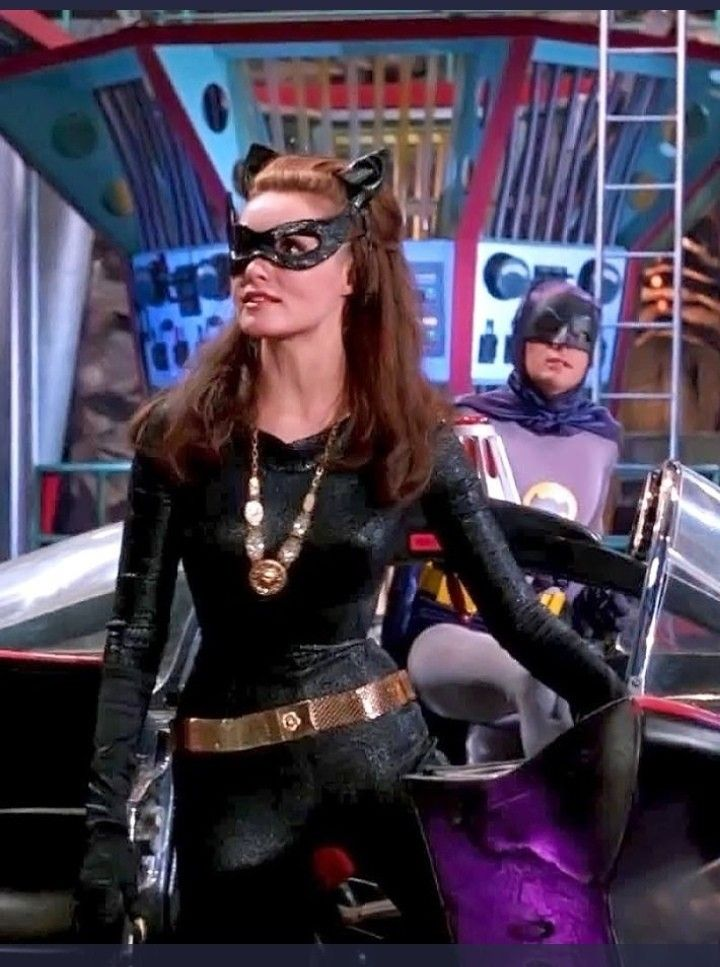 Julie Newmar Catwoman in Batcave.jpg